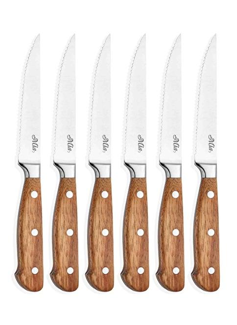 The Mia Cutt Et Bıçağı - 6 Lı Set Renksiz